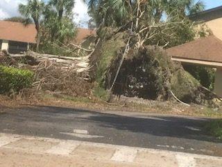 Hurricane Irma From the Landry Room