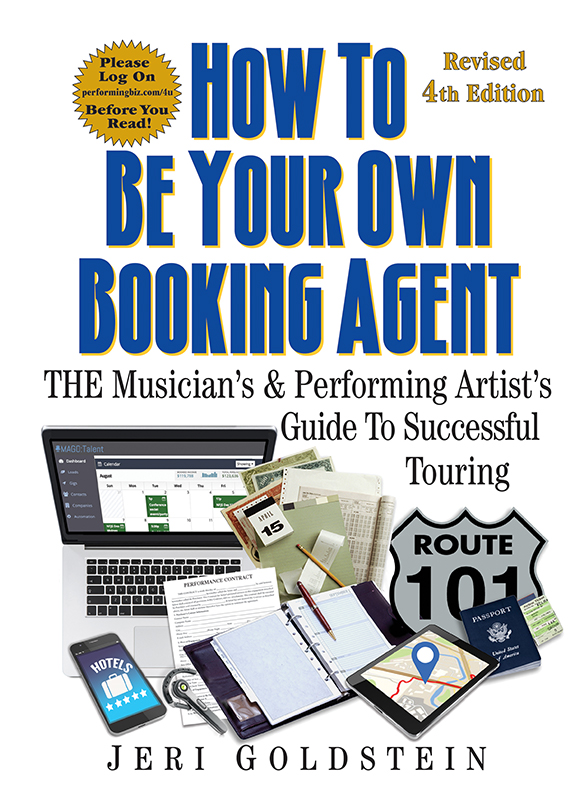 How to be Your Own Booking Agent (4th Edition)