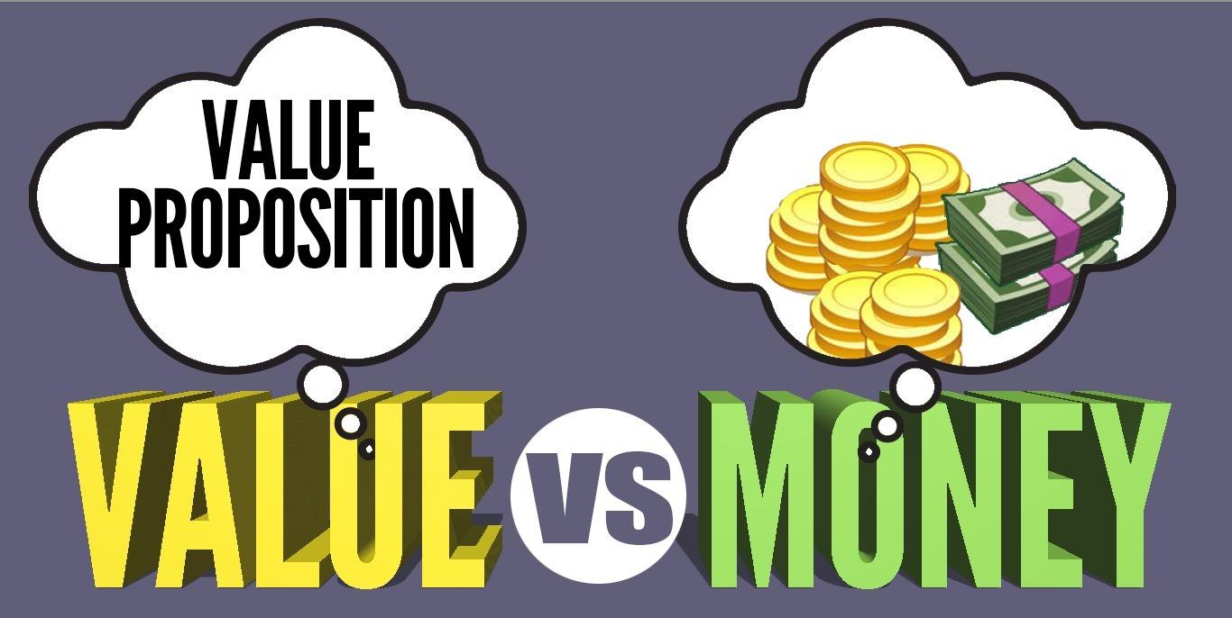 Value Versus Money